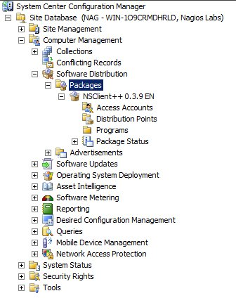 Deploy NSClient++ Agent using Microsoft's SCCM with Nagios