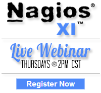 Nagios XI - Register for Live Webinar