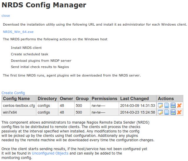 NRDS Config Manager