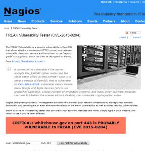 FREAK Vulnerability Tester (CVE-2015-0204)