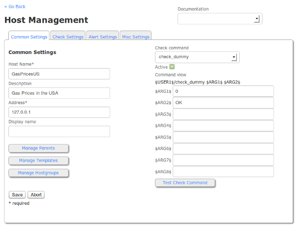 Host Management in Nagios XI