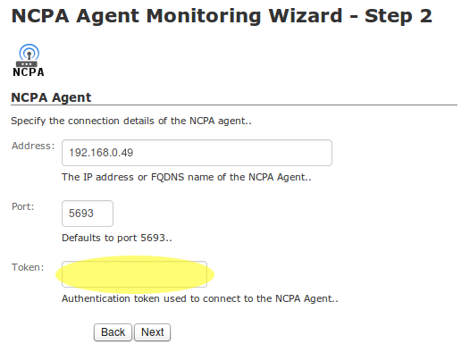 NCPA Monitoring Wizard