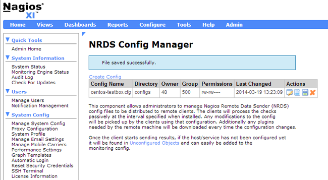 NRDS Config Manager