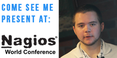 Come see Sam Lansing present at Nagios World Conference 2014
