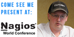 Come see Spenser Reinhardt present at Nagios World Conference 2014
